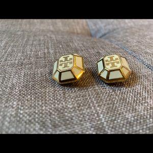 Tory Burch 'Rylan' clip-on earrings